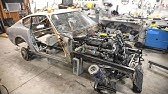The M5 Engine is Officially Mounted in the 240Z!!!