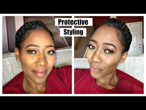 MY GO-TO PROTECTIVE STYLE FOR HAIR GROWTH