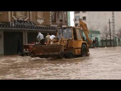 inondation a ben m'hidi wilaya d'el tarf en fevrier 2012