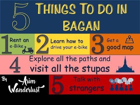 5 Things to do in Bagan