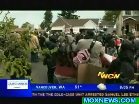 Occupy Portland Uses May Day To Reclaim Bank Foreclosed Home