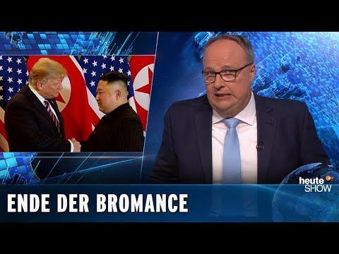 Nix Friedensnobelpreis! Der Gipfel von Trump und Kim ist geplatzt | heute-show vom 01.03.2019