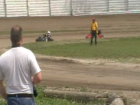 whip city speedway karts Novice 5-29-10