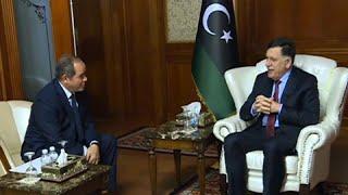 وزير الخارجية الجزائري يلتقي بالسراج في طرابلس بهدف جمع الأطراف المتخاصمة حول طاولة الحوار…
