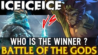 Dota 2 IceIceIce Zeus vs Monkey King - Battle of the Gods - Who is the Winner ?