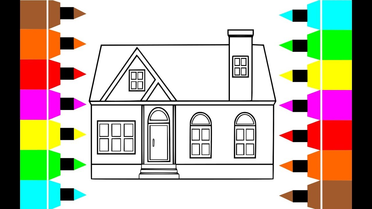 House painting and sketching:) Kids coloring pages*Kid ...