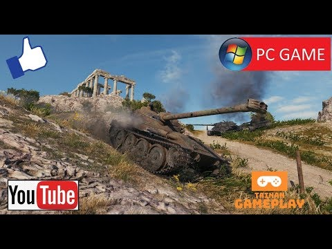 World Of Tanks - Bat.-Châtillon 25 T AP - ACE Tank (GAMEPLAY) (PC GAME)