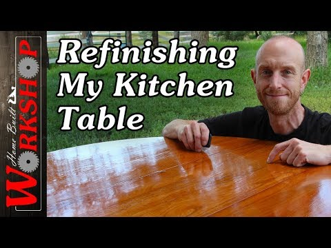 How to Refinish a Table (Quickly)