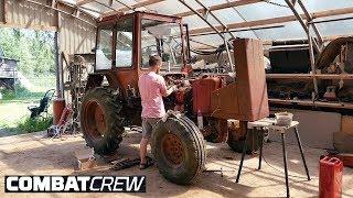 Турбо-трактор: Заводим спустя 10лет! Часть 2