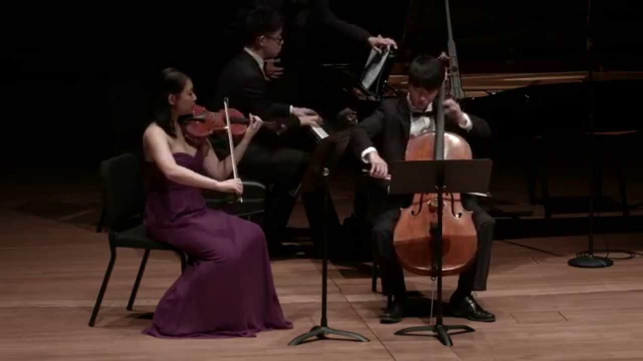 Rachmaninov: Trio elegiaque in G minor for Piano, Violin, and Cello