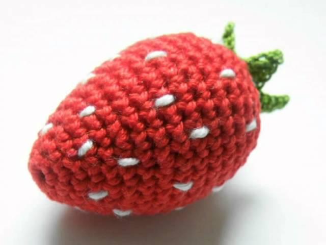 Erdbeere häkeln pfiffigste