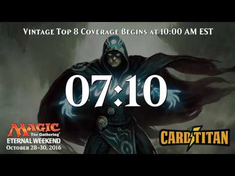Magic Eternal Weekend North American Top 8 - presented by CardTitan