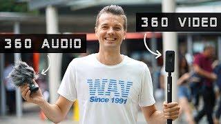 Singapore In 360! Insta360 ONE X & ZOOM H3-VR 360 Audio & Video Test I Use Cursor Left Corner!