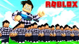 MY CLONES ARMY IN ROBLOX!