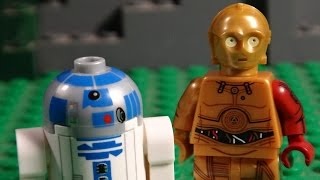 LEGO STAR WARS EPISODE VII - C-3PO AND R2-D2 - THE FORCE AWAKENS