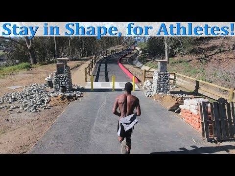 How to Stay in Shape in the Summer Off-Season for all athletes.