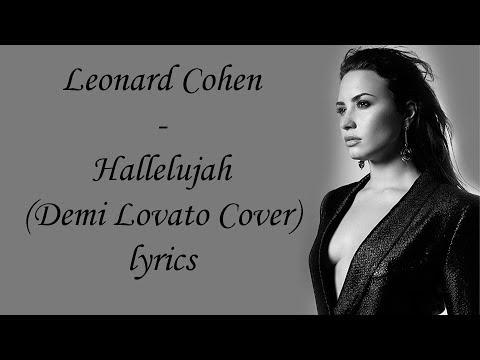 Leonard Cohen - Hallelujah (Demi Lovato Cover) [Full HD] lyrics