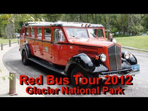 Red Bus Tour 2012 - Glacier National Park, Montana