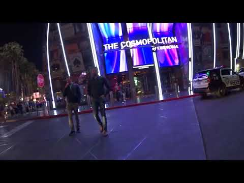 Walking the Las Vegas Strip 2018 Chinese Lunar New YEAR of the DOG (People Watching)