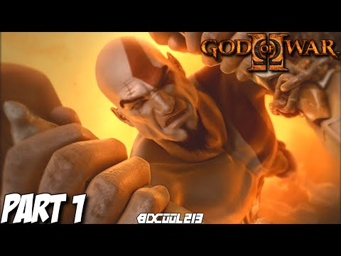 GOD OF WAR 2 GAMEPLAY WALKTHROUGH PART 1 INTRO & COLOSSUS OF RHODES BOSS FIGHT - PS3 LET'S PLAY