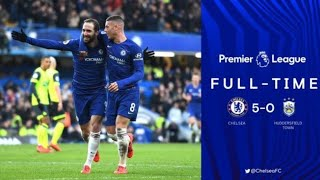 Chelsea vs Huddersfield 5 - 0 All Goals and Highlights