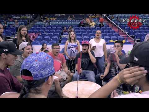 Whitefish Jr Singers 2017 @ Dakota Dunes Powwow