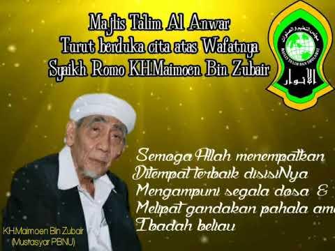"""maasalamafi """" Syaikhona KH. Maimoen Zubair"""" ( Mbah Mon Sarang Rembang )"""