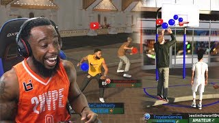 DODGEBALL & Mini-Hoop Basketball with TroyDan! NBA 2K19 MyPark