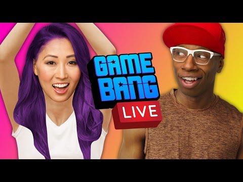 UNCOMFORTABLE PARTNER YOGA LIVE (Game Bang)