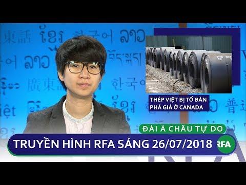 Tin tức: Thép Việt Nam bị tố bán phá giá ở Canada