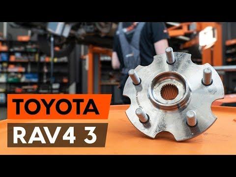 Как заменить подшипник ступицы заднего колеса на TOYOTA RAV 4 3 (XA30) [ВИДЕОУРОК AUTODOC]