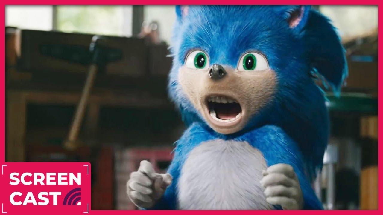 Sonic The Hedgehog Trailer Reactions Kinda Funny Screencast Ep 17