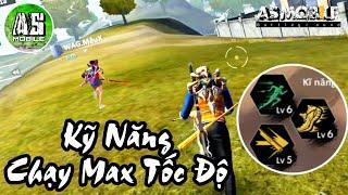 [Garena Free Fire] Ghép Kỹ Năng Tăng Max Tốc Độ Chạy | AS Mobile