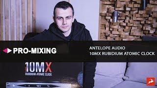 обзор и распаковка Antelope Audio 10MX Rubidium Atomic Clock Часть 1