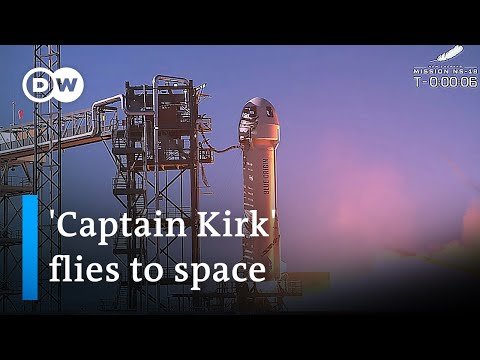 Star Trek actor William Shatner becomes oldest person to reach space | DW News