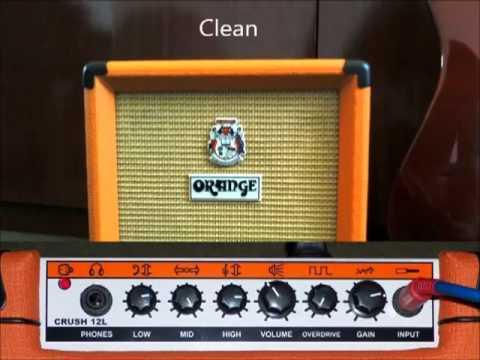 Orange Crush 12l : orange crush 12l overdrive e clean youtube ~ Hamham.info Haus und Dekorationen
