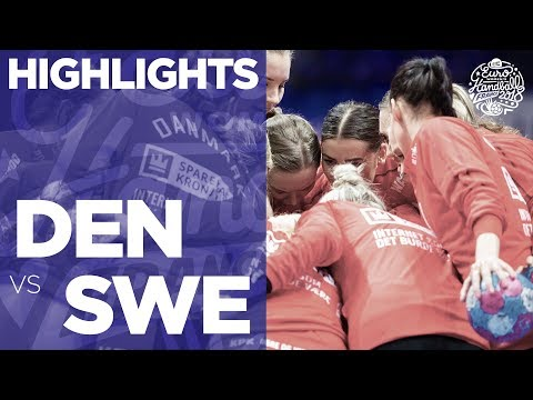 Denmark vs Sweden | Highlights | Women's EHF EURO 2018