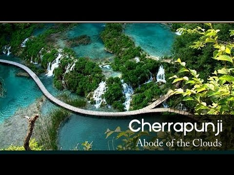world most beautiful place Cherrapunji