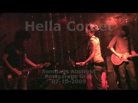 """Hella Comet - """"Dust Me"""" live @ Postgarage"""