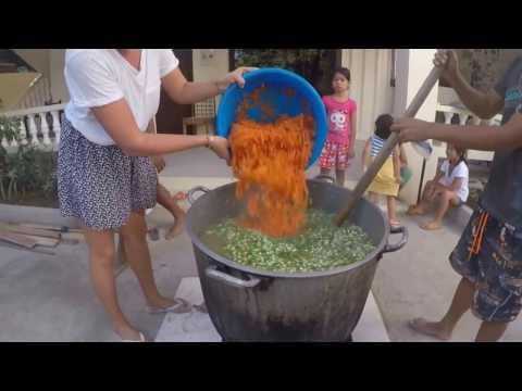 Slum Feed in Cebu, Philippines