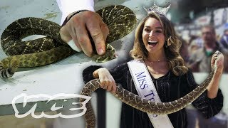 The Teenage Pageant Girls Who Kill and Skin Rattlesnakes