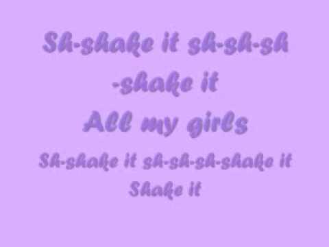 Jordyn Taylor Shake It With Lyrics