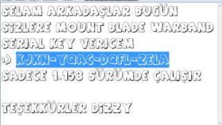 Mount&Blade Warband 1*158 Serial Key