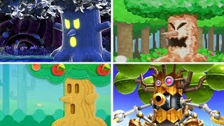 Evolution of - Whispy Woods in Kirby Games