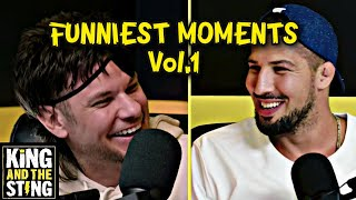 Funniest Moments Vol.1 | King and the Sting w/ Theo Von & Brendan Schaub