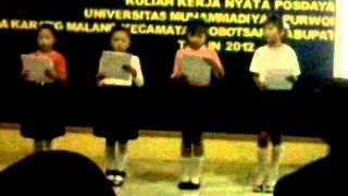 Puisi SD Karang Malang Acara Perpisahan KKN