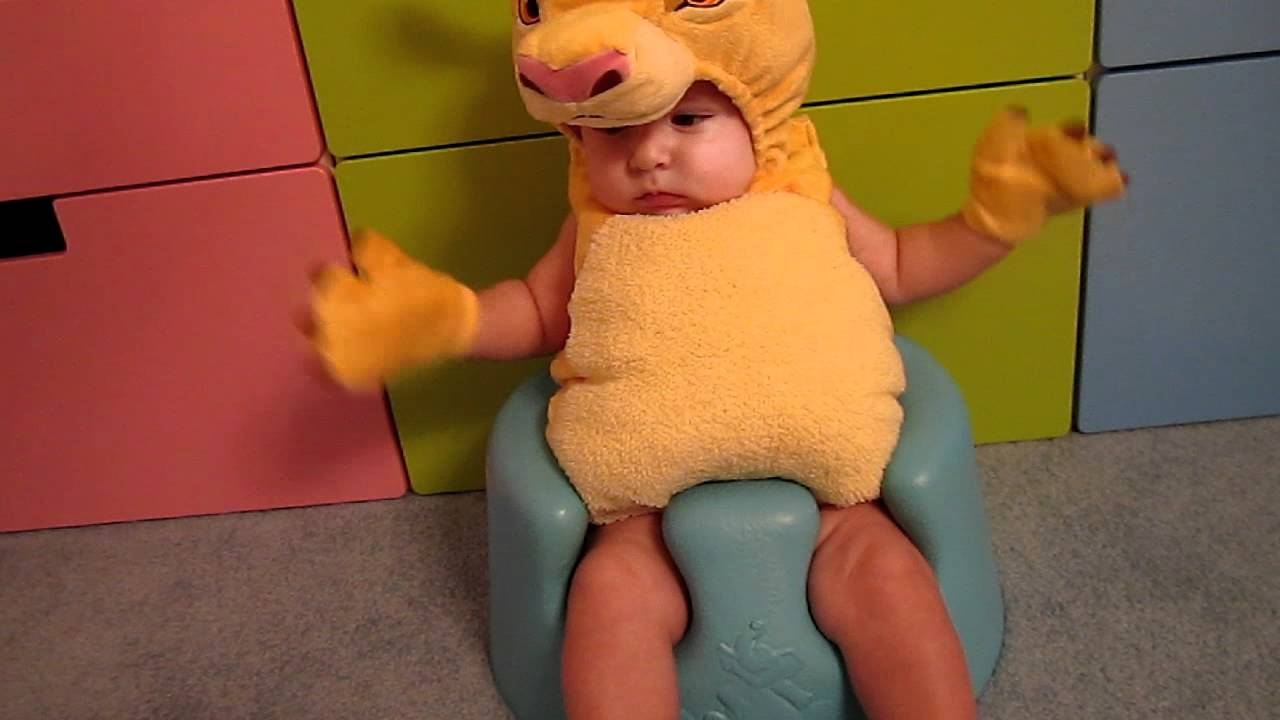 & Lion King Simba baby halloween costume - YouTube