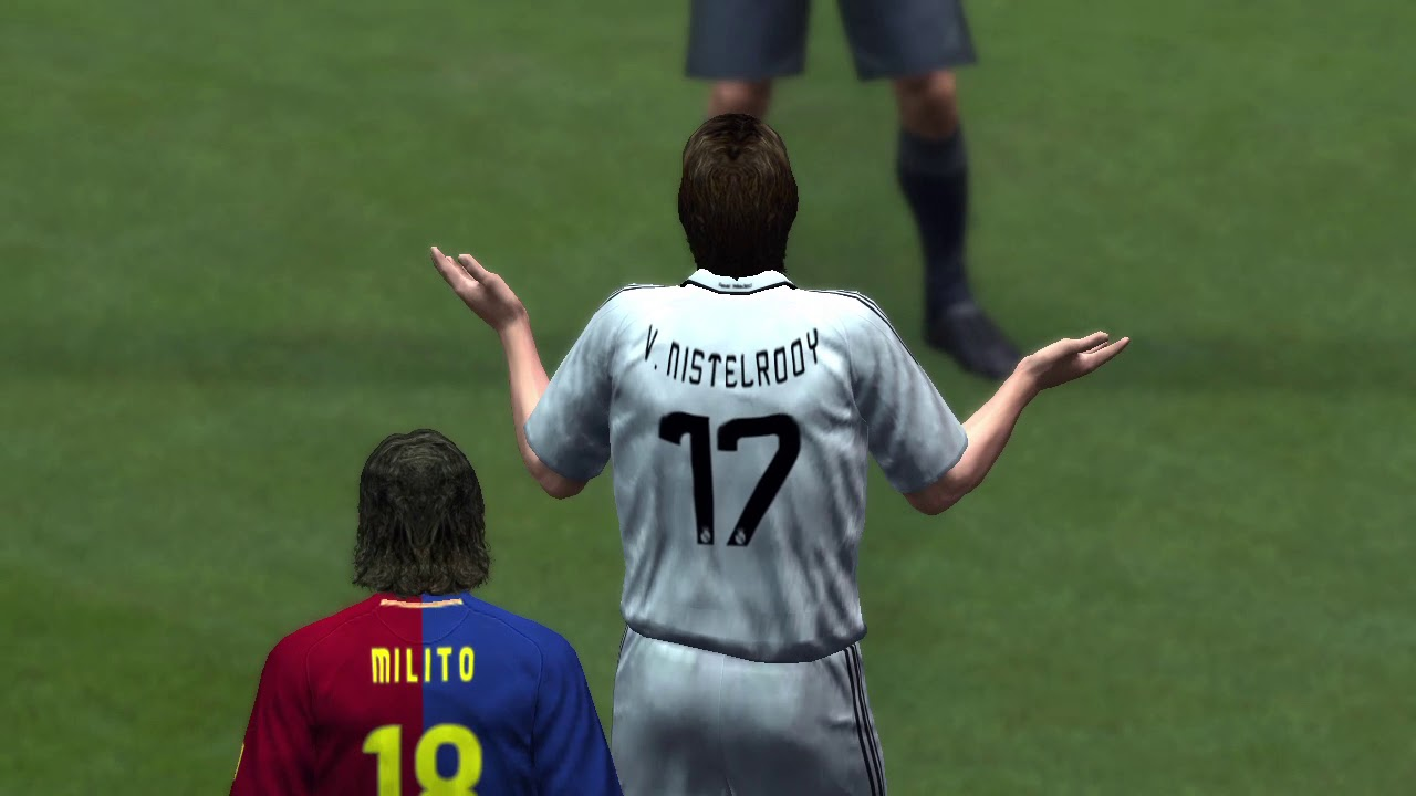 Pro Evolution Soccer 2009 (Barcelona vs Real Madrid)