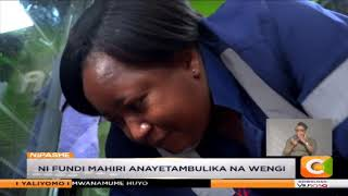 | MWANAMKE BOMBA | Lilly Konya ni fundi wa jokofu