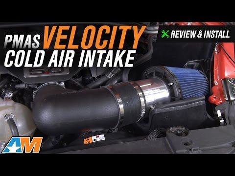 2015-2017 Mustang GT PMAS Velocity Cold Air Intake Review & Install